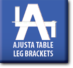 Ajusta Table Leg Brackets : About logo